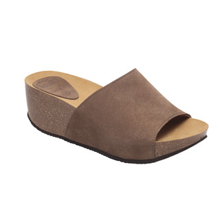 Scholl ENIGAN 2.0 šedé zdravotní pantofle