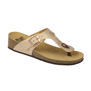 Scholl GANDIA bronzové zdravotní pantofle (2018)