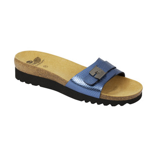Scholl GINNI modré - zdravotní pantofle