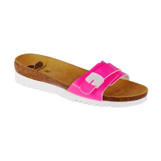 Scholl GINNI růžové zdravotní pantofle