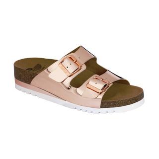 Scholl GLAM SS 2 bronzové zdravotní pantofle