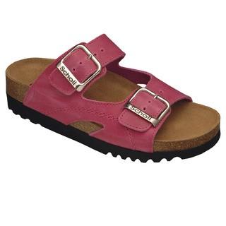 Scholl MOLDAVA WEDGE - růžové zdravotní pantofle