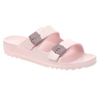 Scholl SHO BAHIA - růžové zdravotní pantofle