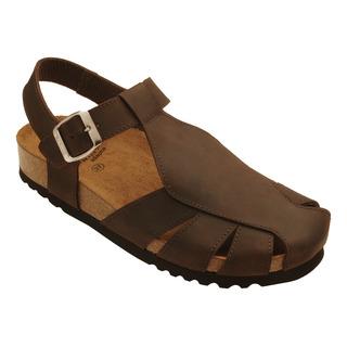 Scholl SISARE AD - tmavě hnědé zdravotní sandále