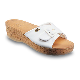Scholl WAPPY bílé - dámské zdravotní pantofle