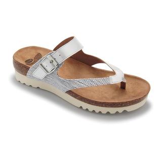 Scholl TAHIN bílé - zdravotní pantofle