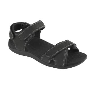 Scholl BARWON černé - pánské zdravotní sandály