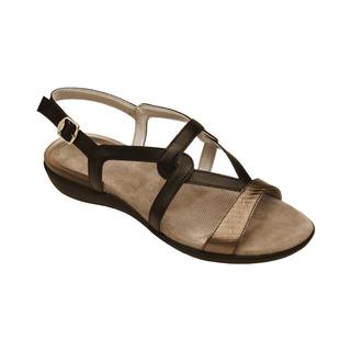 Scholl LORAINE černé zdravotní sandále
