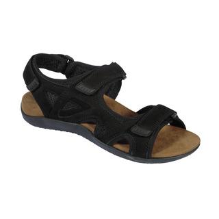 Scholl SPINNER černé - pánské zdravotní sandály
