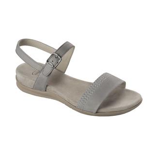 Scholl SYRMA světle šedé zdravotní sandály