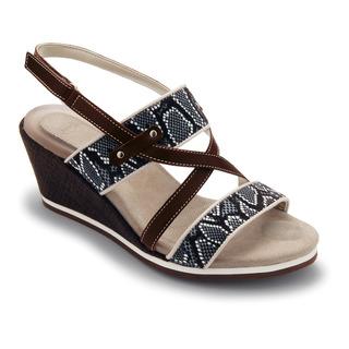 Scholl BRADE tmavě hnědé sandále