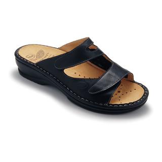 Scholl DORINA černé - domácí zdravotní pantofle