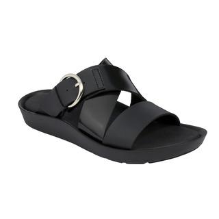 Scholl MARMARIS černé zdravotní pantofle