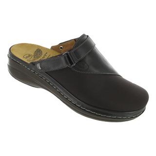 Scholl MAULA tmavě hnědá domácí obuv