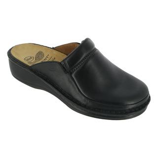 Scholl NEW NICOLE ADJ černá domácí obuv