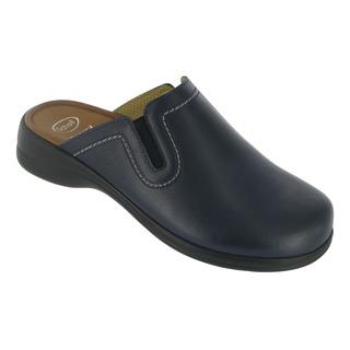 Scholl TOFFEE modrá domácí obuv