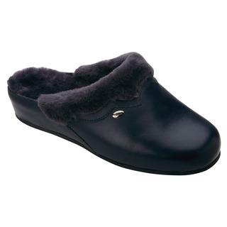 Scholl WARMLINE tmavě modrá domácí obuv