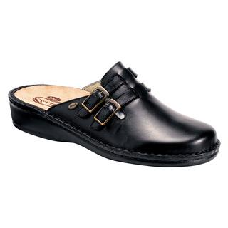 Scholl INDOOR černá - zdravotní domácí obuv