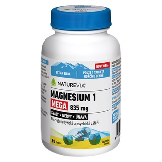 Swiss NatureVia Magnesium 1 Mega 835 mg (90 tablet)