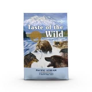 Taste of the Wild Pacific Stream Canine 12,2 kg - kompletní krmivo pro dospělé psy (uzený losos)