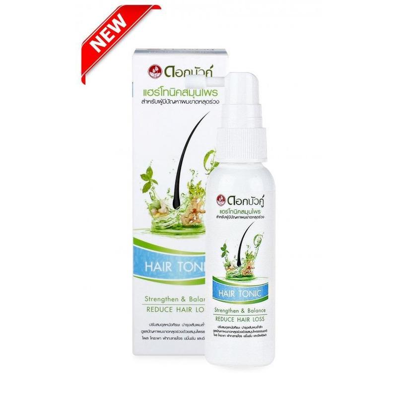 Twin Lotus Natural Herbal Active Hair Tonic 60ml - bylinné vlasové tonikum