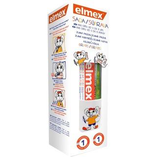 elmex Kids sada pro děti od 3 do 6 let (zubní kartáček+zubní pasta+kelímek)