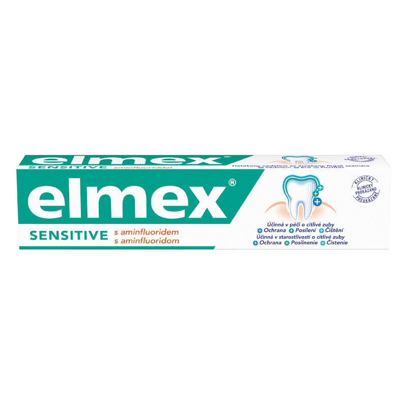 elmex zubní pasta Sensitive Duopack 2x75ml