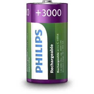 Philips R14B2A300/10 - nabíjecí baterie C, 1,2V, NiMh, 3000 mAh