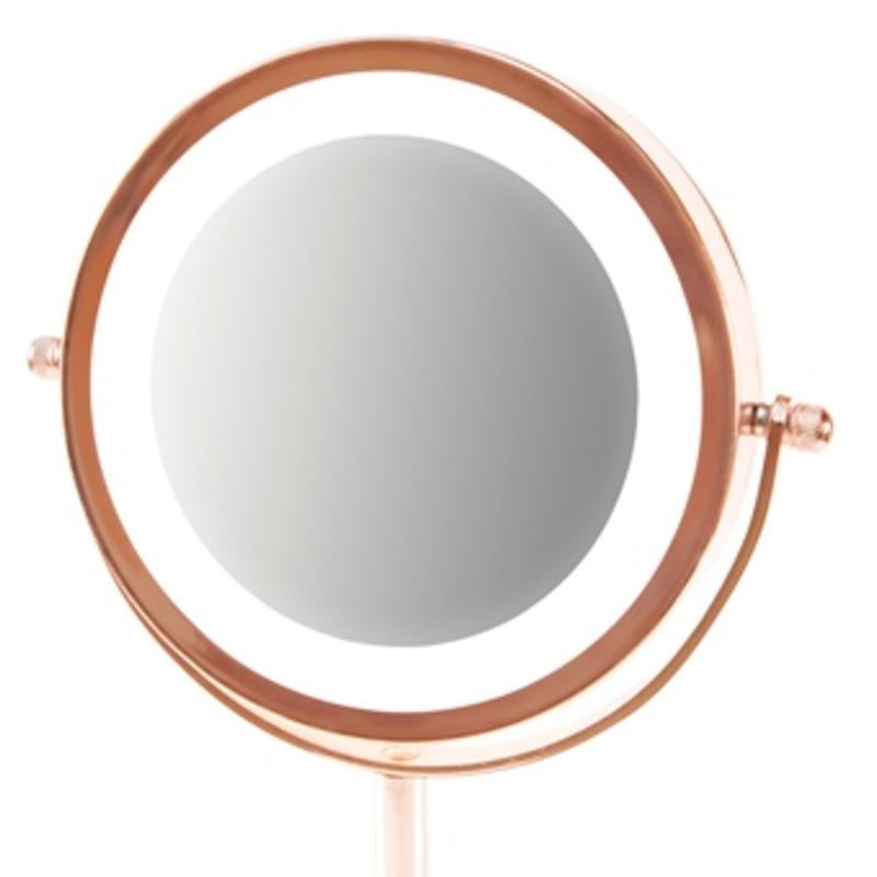 RIO ROSE GOLD MIRROR - kosmetické zrcátko