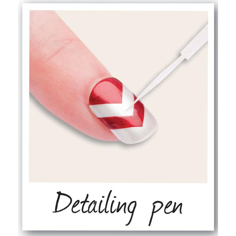 RIO NAIL ART - METALLICS 6 pens