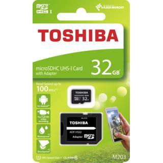 Toshiba Toshiba micro SDHC 32GB UHS-I M203 + adaptér