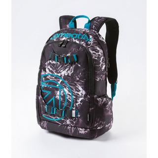meatfly Basejumper 3 - B - Waves Print - černý batoh 20l