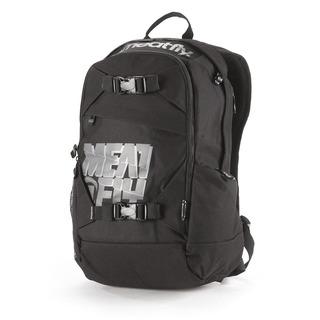 meatfly Basejumper D - Black - černý batoh 20l