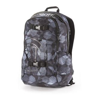 meatfly Basejumper H- Hex- šedý batoh 20l