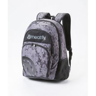 meatfly Vault A - Binary Camo Print - šedý batoh 26l