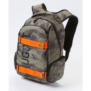 NUGGET Bradley D - Debris Army Print - zelený batoh 24l