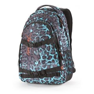 NUGGET Connor D - Leopard Mint - zelený batoh 26l