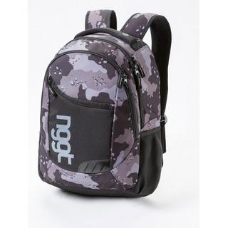 NUGGET Rapid B - Chip Camo Print - černý batoh 26l