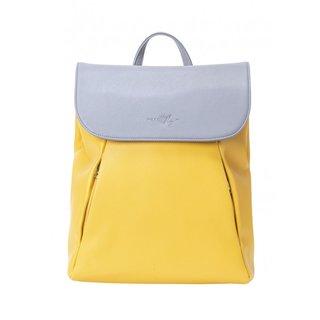meatfly Triumph 2 C - Light Grey, Sunshine - žlutý dámský batoh