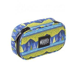 meatfly XL Pencil Case 2 C - Landscape Green - pouzdro na psací potřeby