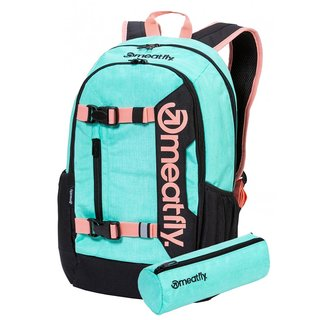 meatfly Basejumper 6 H - Heather Mint - zelený batoh 22l