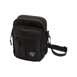 meatfly Hardy Small Bag A - Black - černá brašna přes rameno