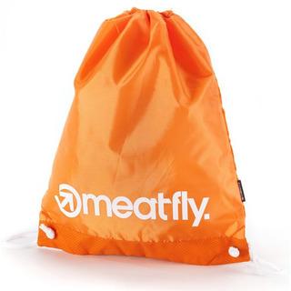 meatfly Flatout Benched Bag - Orange - školní sáček na přezůvky