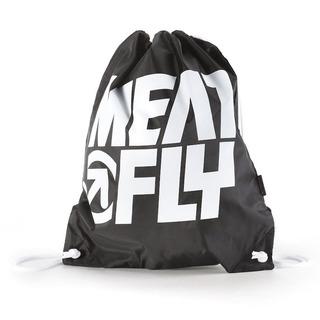 meatfly Swing Benched Bag - Black - školní sáček na přezůvky