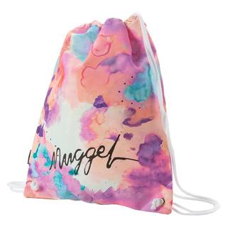 NUGGET Hype 2 Benched Bag - Opacity White Print - školní sáček na přezůvky