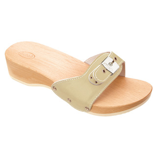 Scholl PESCURA HEEL - pískové zdravotní pantofle