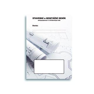 SET SET07 samopropis. stavební deník, A4, 20 trojsložek (10ks)
