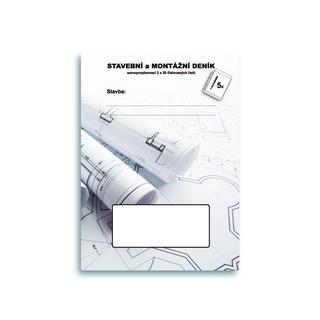 SET SET09 samopropis. stavební deník, A4, 20 trojsložek + kapsa (5ks)